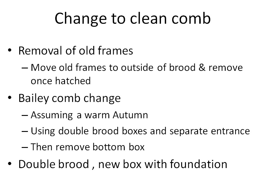 Change to Clean Comb