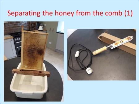 Honey separation
